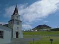 Pohled na Helgafell z města