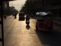 Cesta z nádraží do hotelu v sorng taa ou