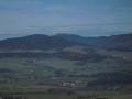 Pohled ze Suchého vrchu na Kralický Sněžník